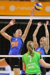 Bekerfinale volleybal dames TVCA - Alterno